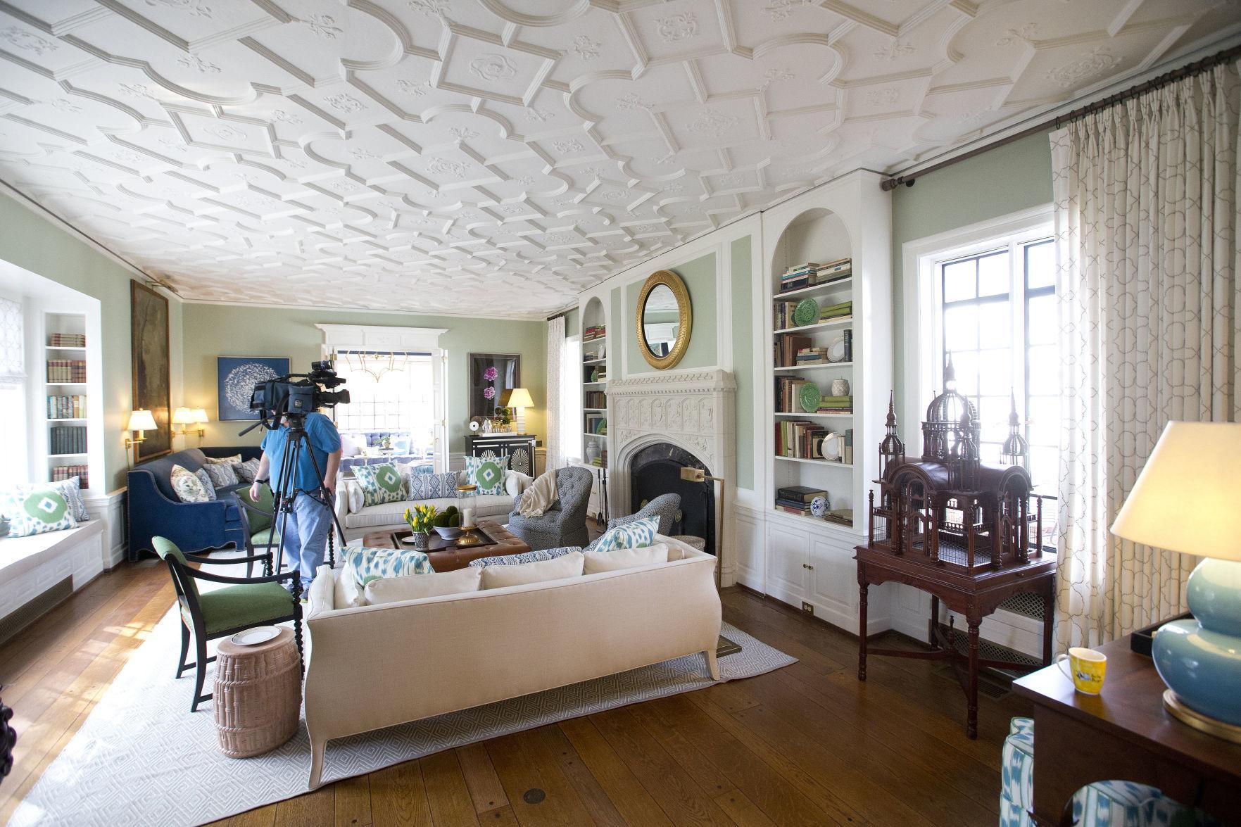 Then And Now Inside The Historic Julian Price House Life Classy Interior Design Greensboro Nc Interior
