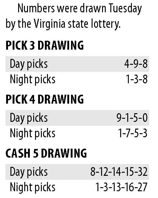 va lottery pick 3 & 4