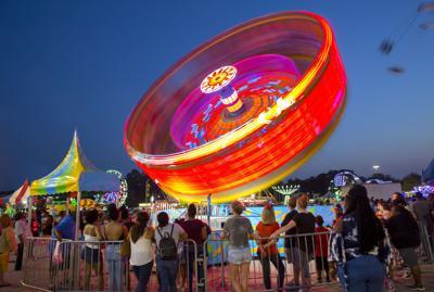 Fun times at Central Carolina Fair (copy)