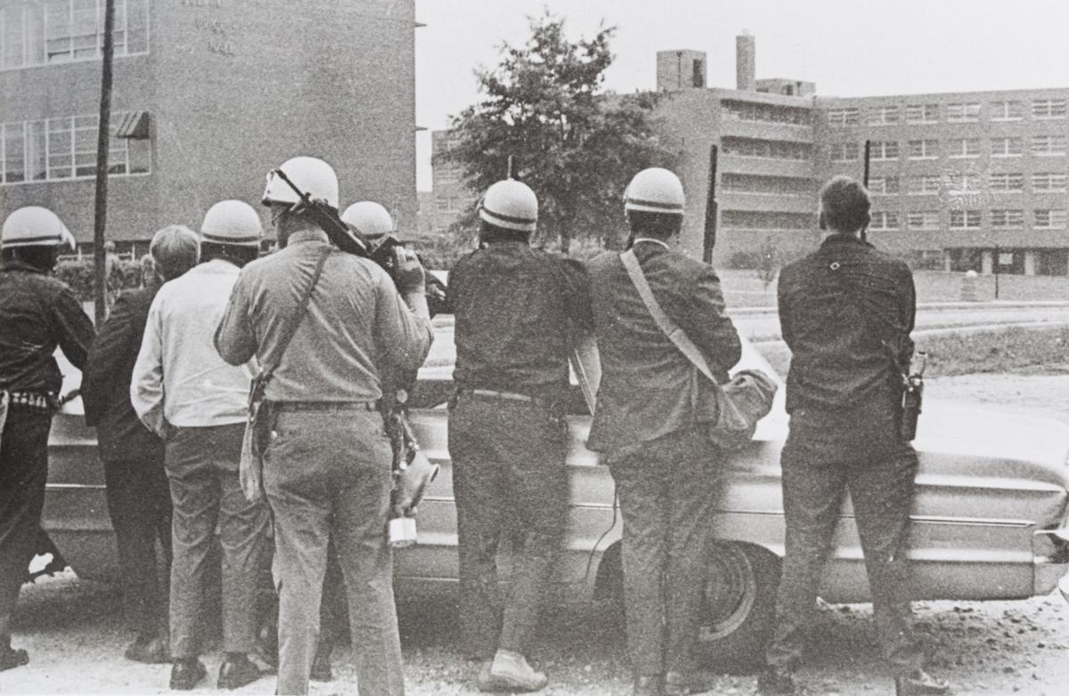 A&T May 1969 Greensboro police