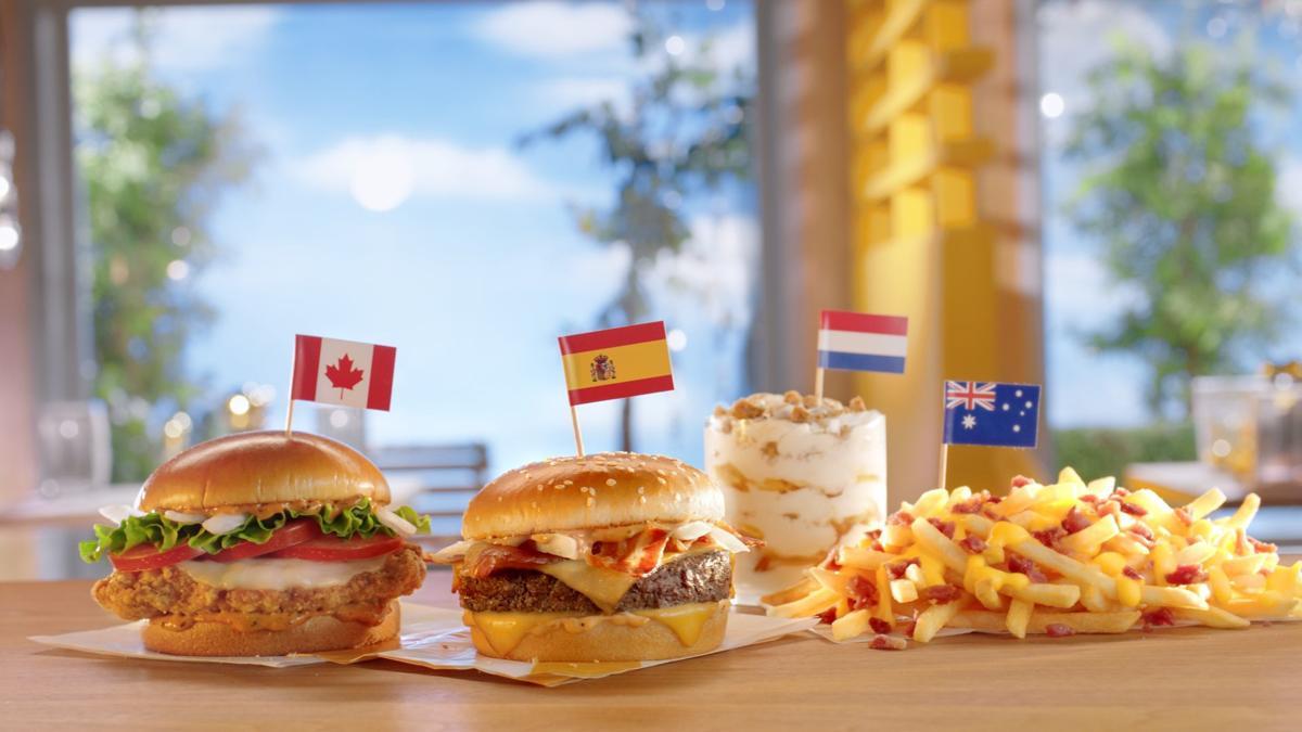 McDonald's Worldwide Favorites