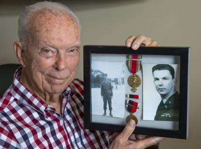 Army code veteran Bill Fenn