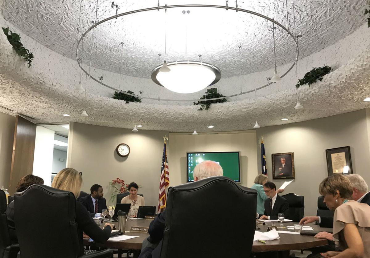 GTCC Medlin Campus Center board room ceiling