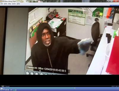 Suspect in Dollar Tree robbery