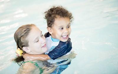 Local child enjoys swim day (copy)