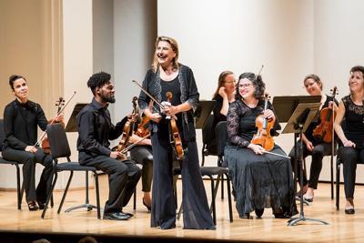 Nadja Salerno-Sonnenberg and EMF Chamber Orchestra