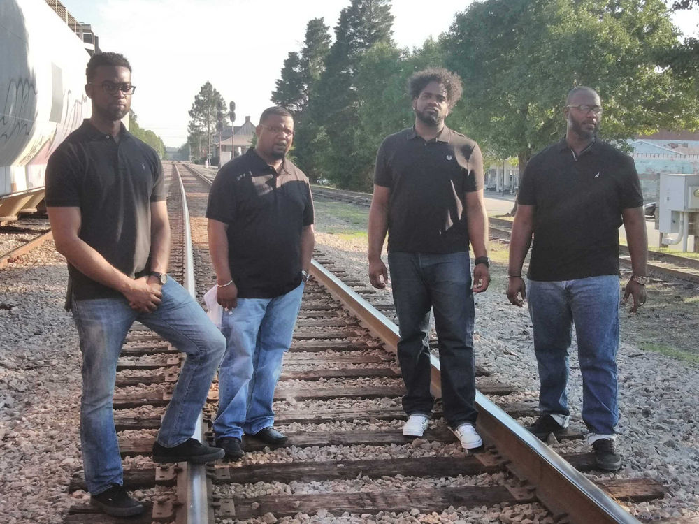 The Allen Boys train tracks
