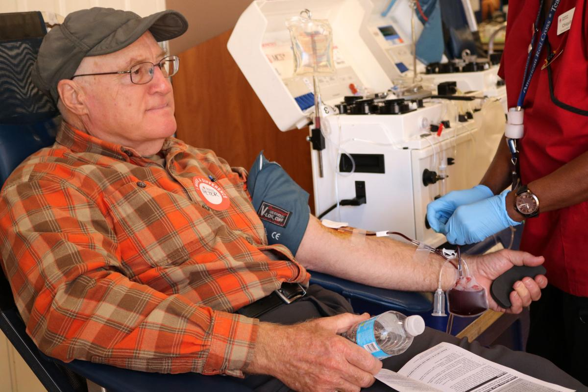 Early College at Guilford blood drive