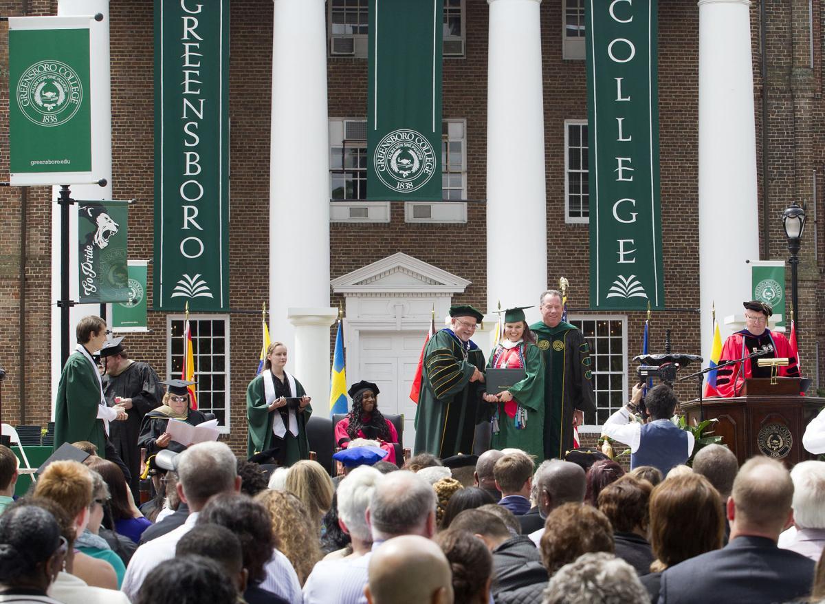 Greensboro College commencement 2017