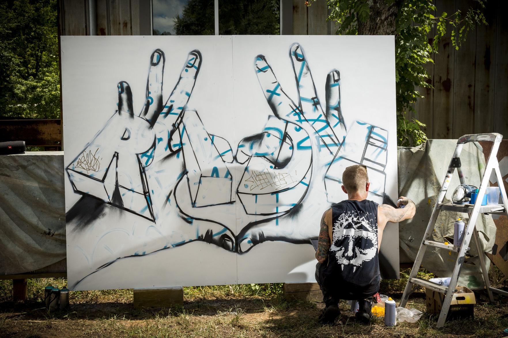 Graffiti Name Art Project