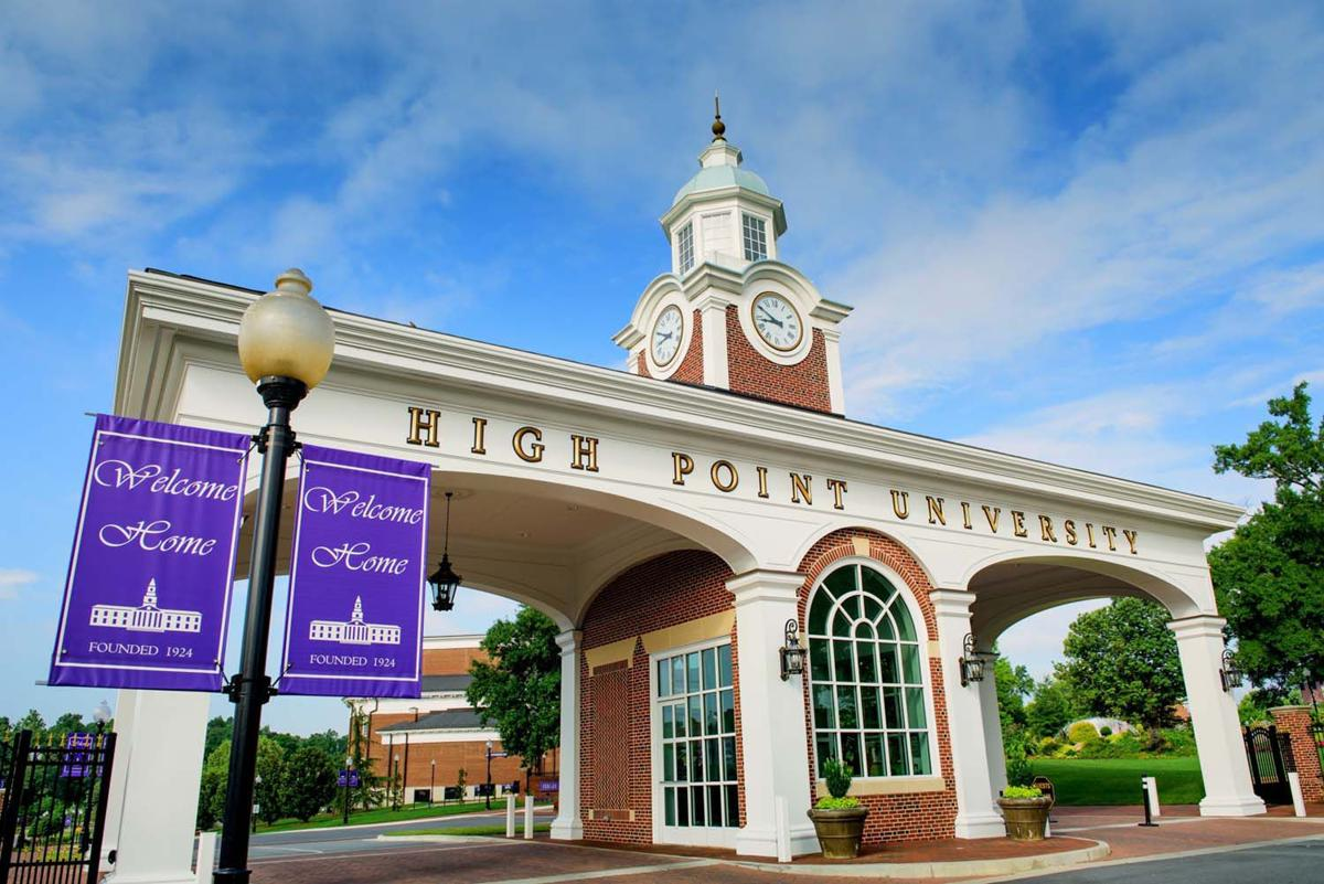 High Point University main gate generic