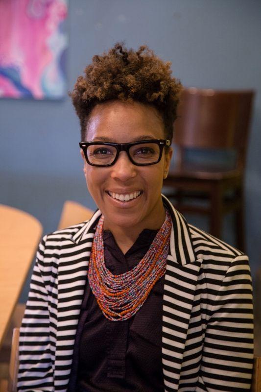 Kya Johnson, Greensboro attorney and co-founder of RainbowMe.
