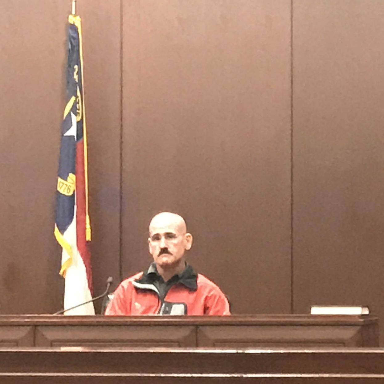 Former Rockingham County DA Craig Blitzer testifies about