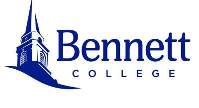 College logo Bennett College