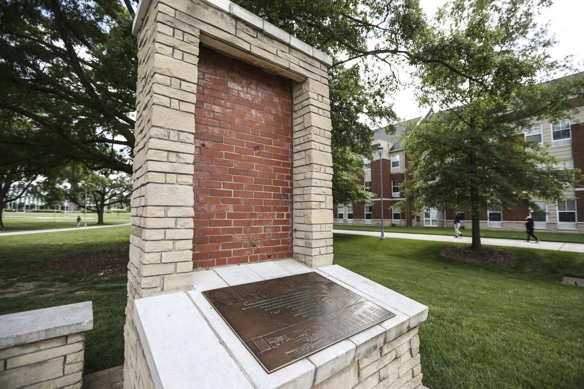 NCAT bullet wall reflecting pool monolith 2019 (copy) (copy) (copy)
