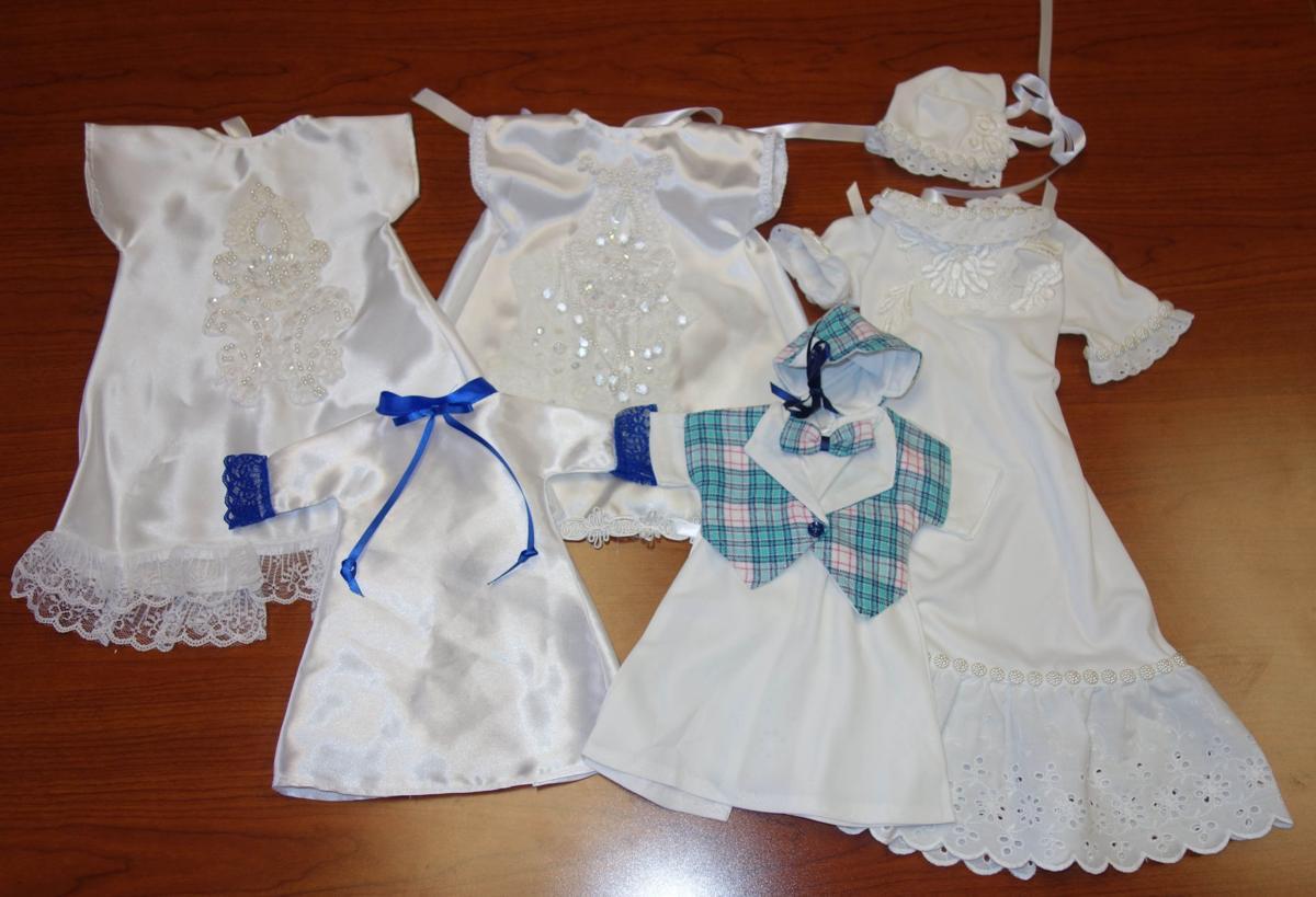 Volunteer: Kristy Jackson\'s wedding dress transformed into Angel ...