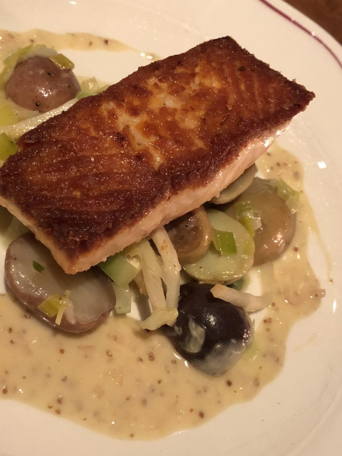 Sauteed Salmon at The Katharine Brasserie and Bar