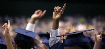 College generic graduation commencement graduates are No. 1