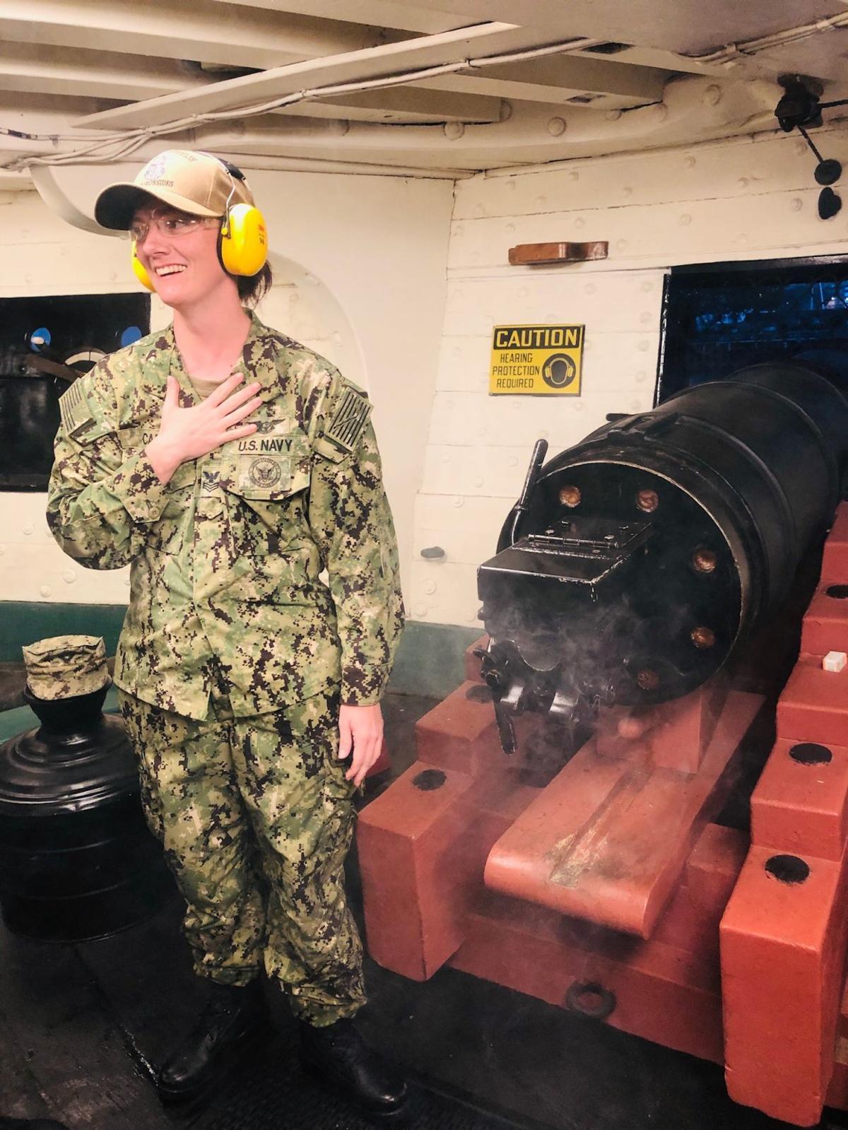 Chief Petty Officer Elizabeth Carlin