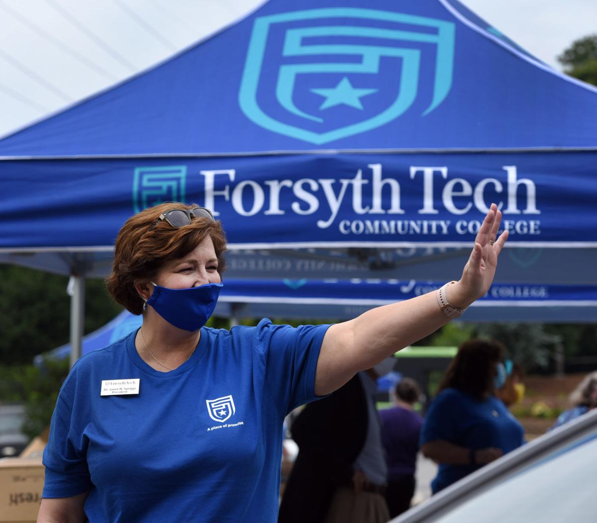 Forsyth Tech logo Janet Spriggs
