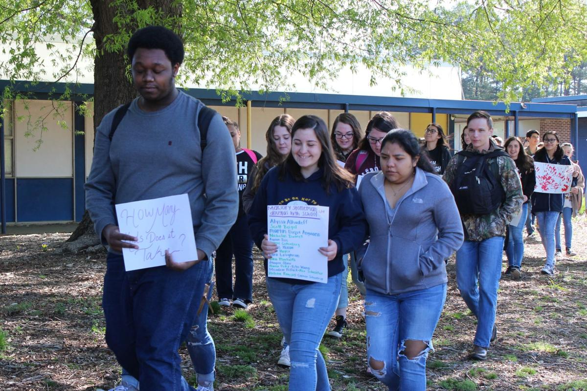 Reidsville High School Walkout