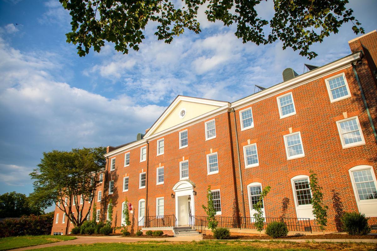 Guilford College Milner Hall exterior (copy)
