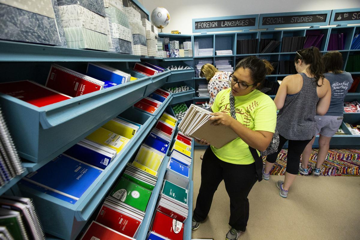Teachers get supplies from Teacher Supply Warehouse (copy)