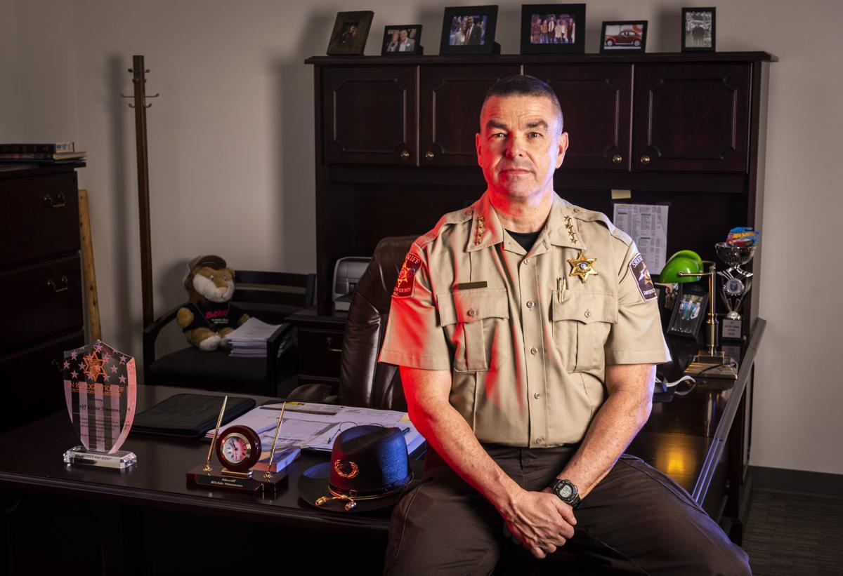 Davidson County Sheriff Richie Simmons