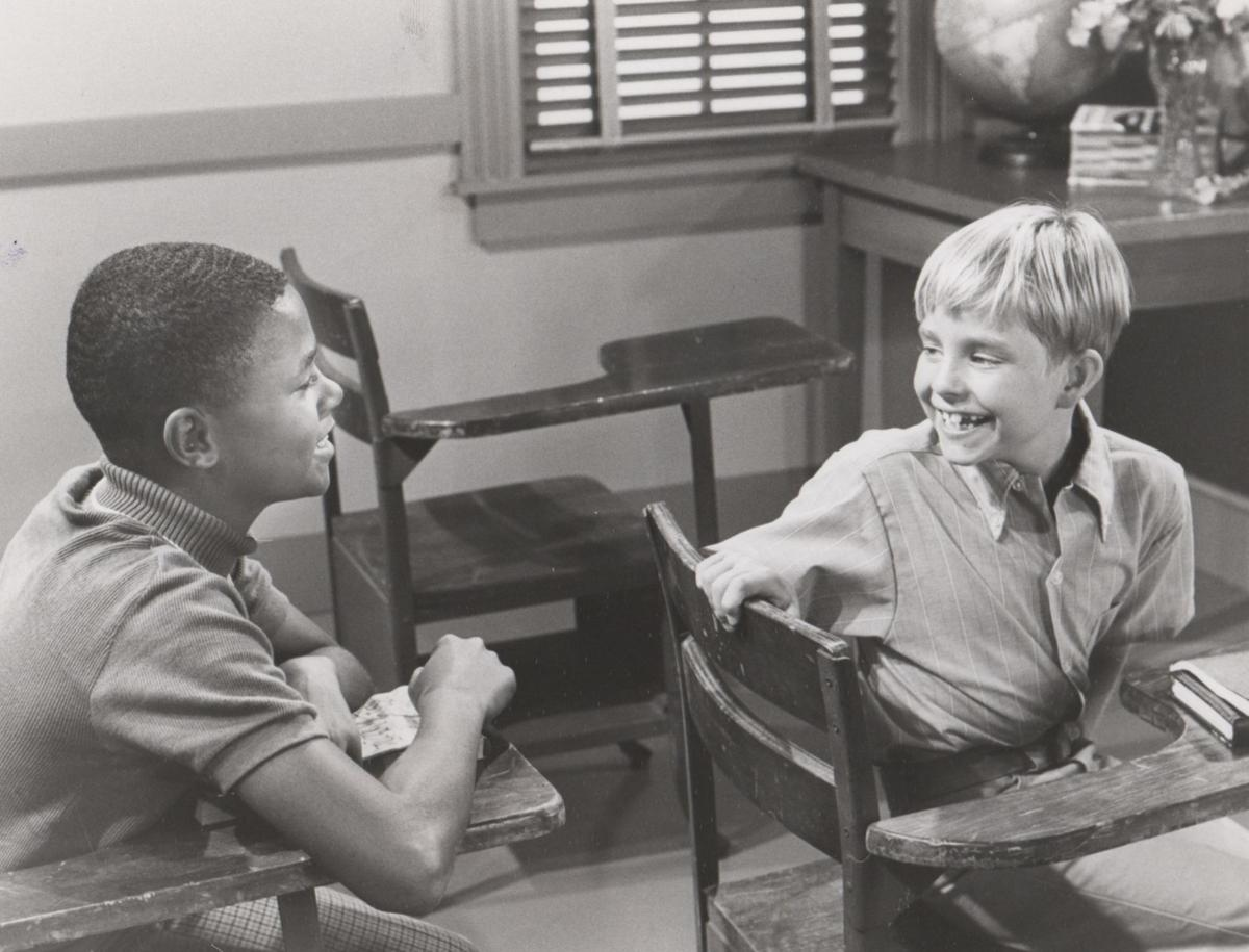 Calvin Peeler and Buddy Foster on Mayberry RFD (copy)