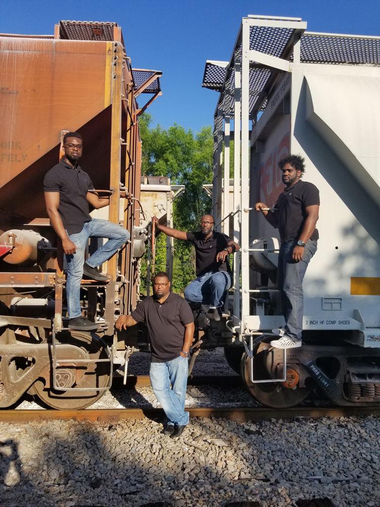 The Allen Boys train