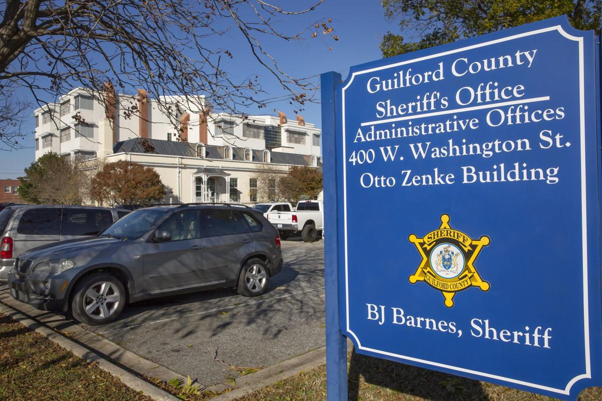 Guilford County Sheriff BJ Barnes moved offices to Zenke building