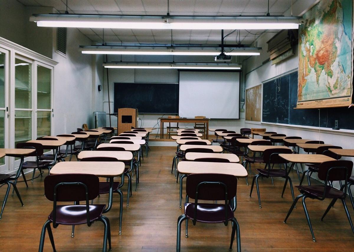 Classroom school desks generic
