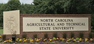NCAT N.C. A&T sign 2018