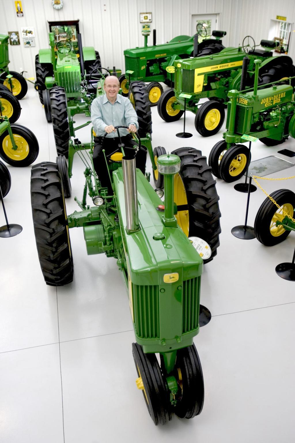 Tractor pull: John Deere hobby fills museum | News