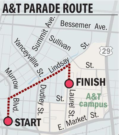 N.C. A&T homecoming parade, parking and street closures | Local News ...