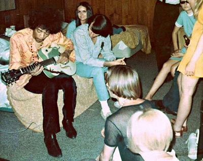 The Monkees with the Jimi Hendrix Experience — July 12, 1967