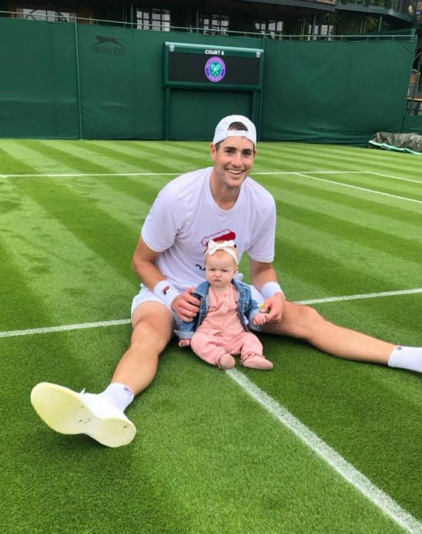 Six questions with John Isner as he prepares to play at Wimbledon ...