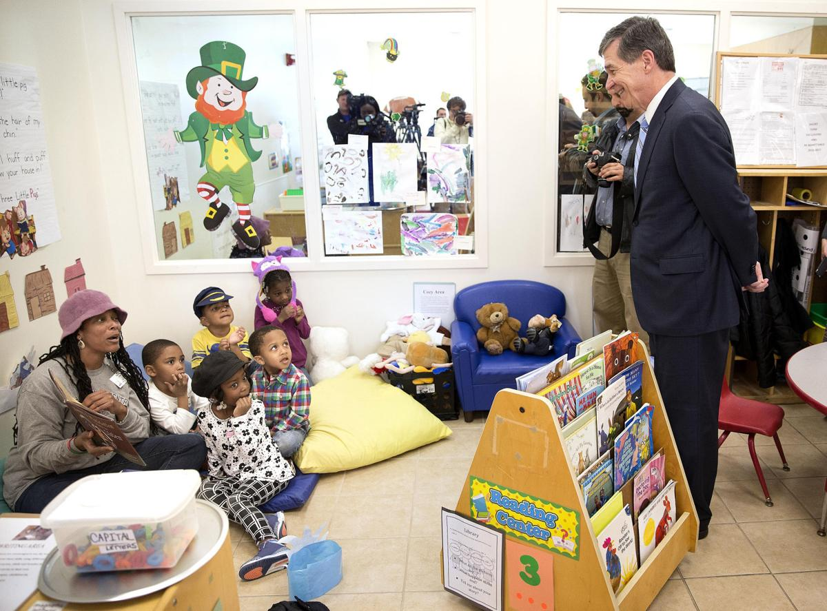 Gov. Cooper Visits Guilford Child Development