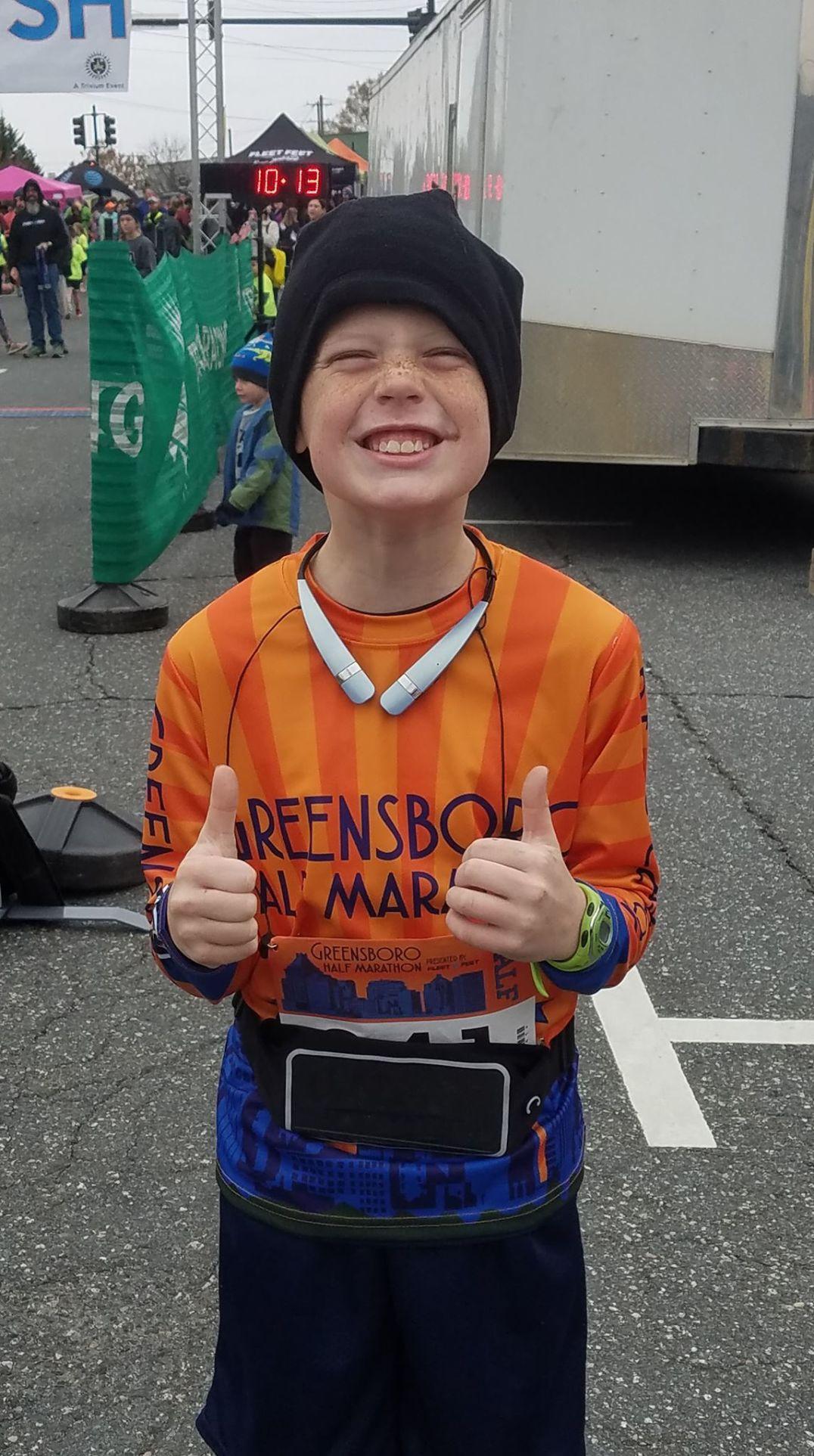 Runners: Blake Fink