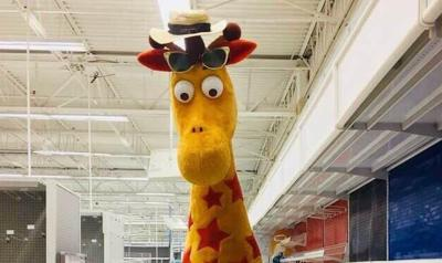 Geoffrey Giraffe crop