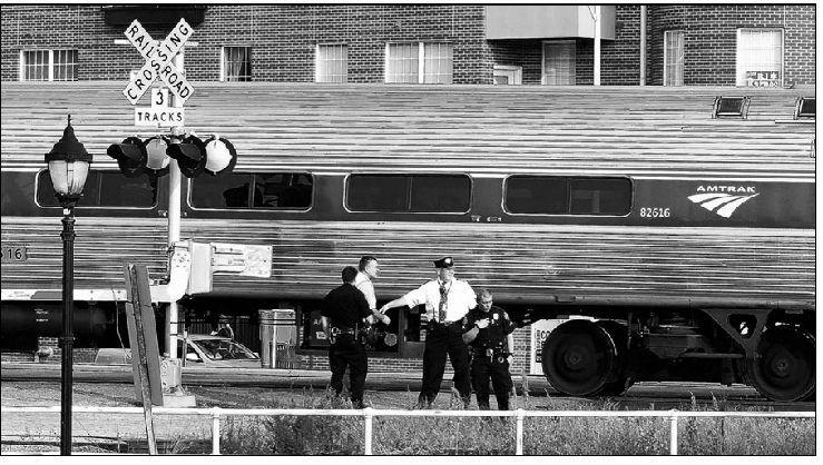 Pedestrian Hit By Train At South Elm Street Tracks Greensboro Com