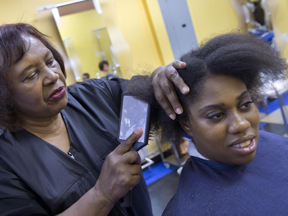 Woman Enrolls In Her Own Beauty School