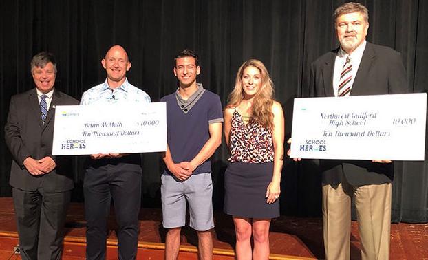 Northwest High Band Director Brian McMath wins $10,000