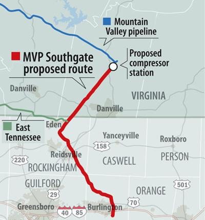 New gas pipeline proposed in Rockingham Alamance counties