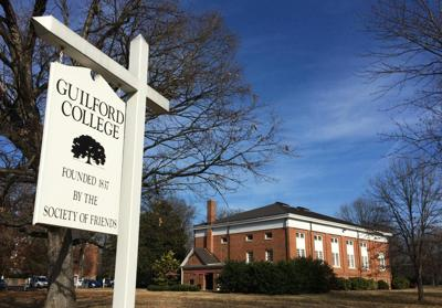 Guilford College generic sign