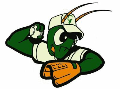 Greensboro Grasshoppers logo horizontal