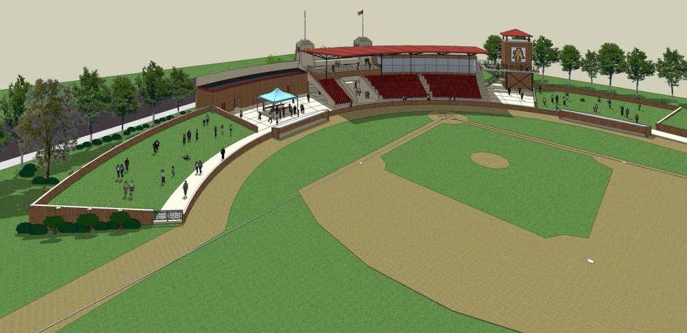 War Memorial Stadium rendering