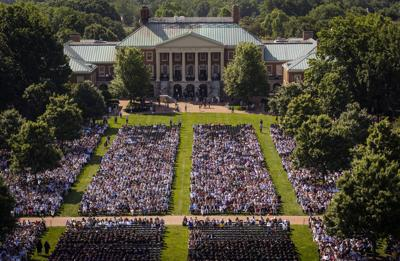 Wake Forest University commencement 2019