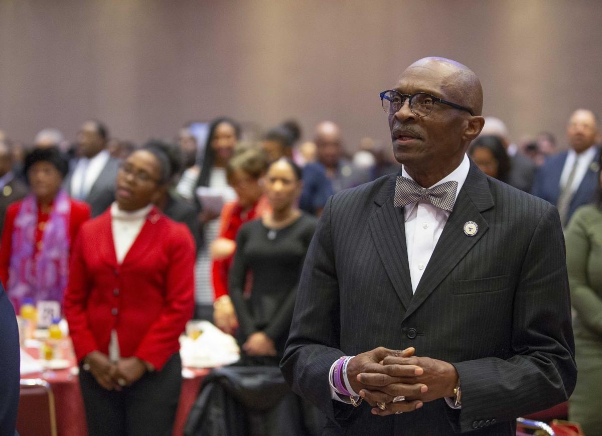 Reverend Anthony Spearman at Martin Luther King celebrations (copy) (copy)