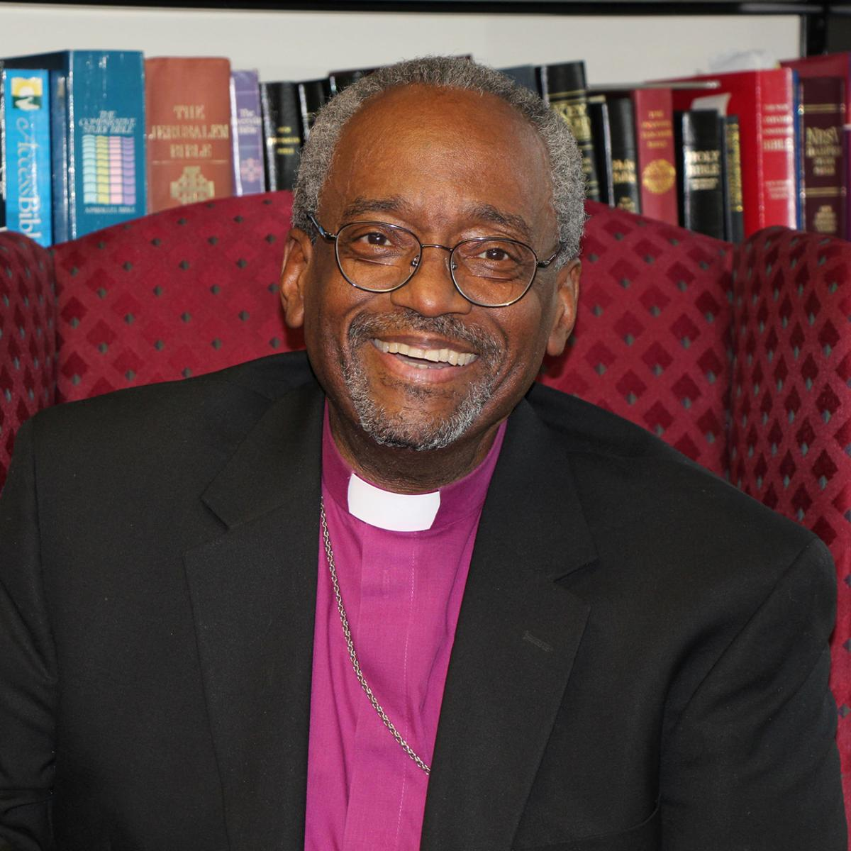 Bishop Michael Curry of the Episcopal Diocense of NC